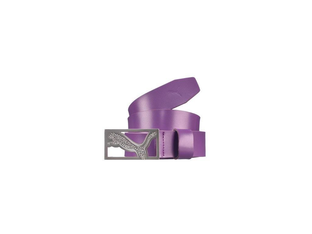 PUMA pásek Shimmer Cut-to-length fialový