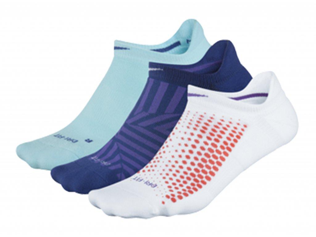 Detailní popis produktu. Dámské ponožky Nike Dri-fit No-Show 3 páry ... 821e362f75