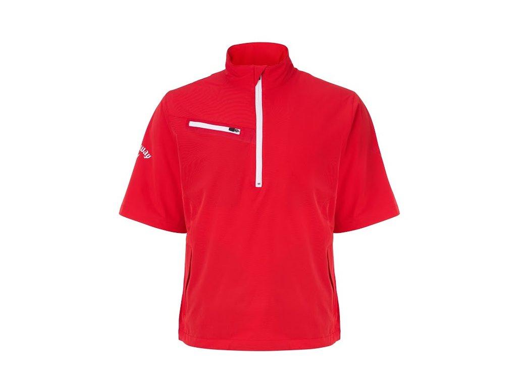 CALLAWAY Windshirt Gust 2.0 červený (Velikost oblečení XL)
