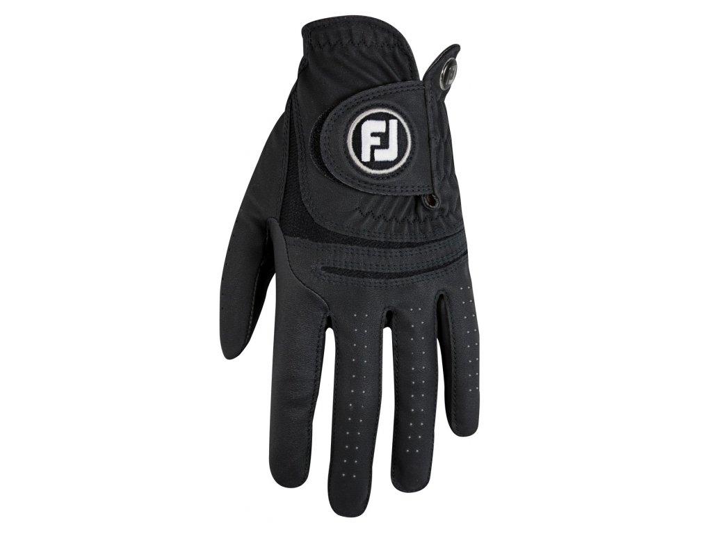 FOOTJOY golfová rukavice WeatherSof černá pravá (Velikost rukavic M)