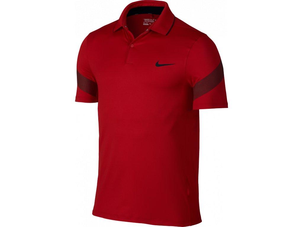 NIKE pánské tričko MM Fly Framing Commander červené (Velikost oblečení M)