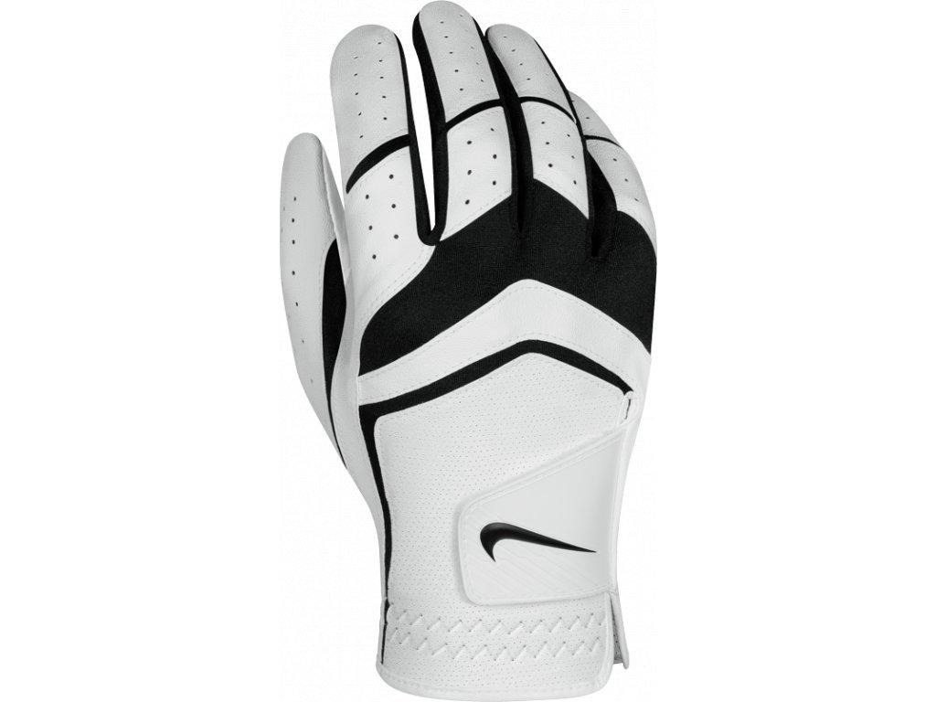 NIKE rukavice Dura Feel VIII bílo-černá pravá (Velikost rukavic XL)