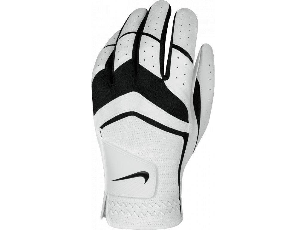 NIKE rukavice Dura Feel VIII bílo-černá (Velikost rukavic XL)