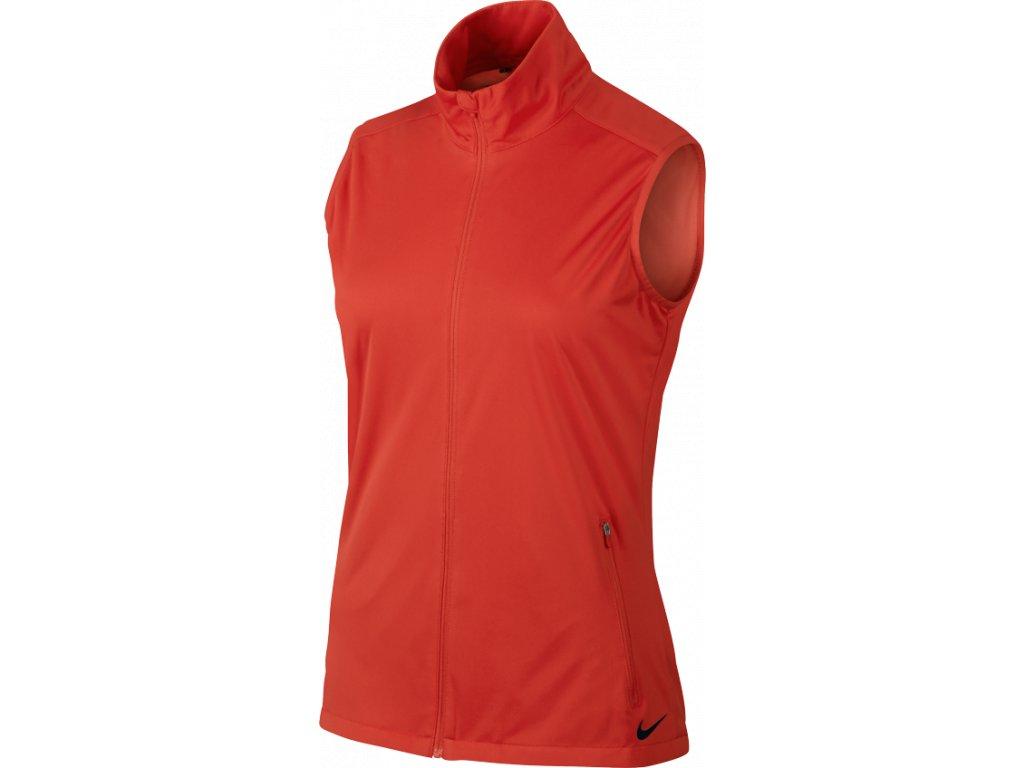 NIKE dámská vesta Shield Wind Vest červená (Velikost oblečení S) 4660e20c41