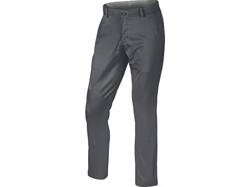 NIKE pánské kalhoty DRI-FIT Slim Chino šedé 38/32