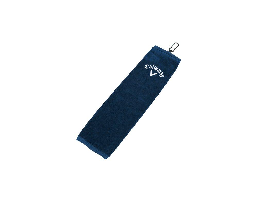 CALLAWAY ručník Tri-fold modrý