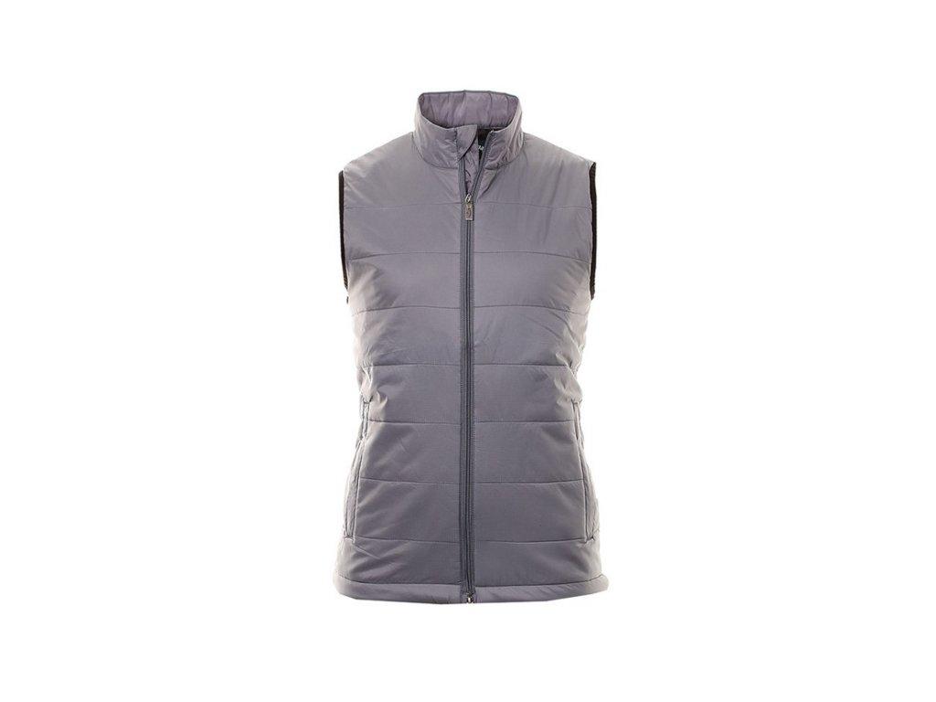 CALLAWAY pánská vesta Puffer šedá (Velikost oblečení M)