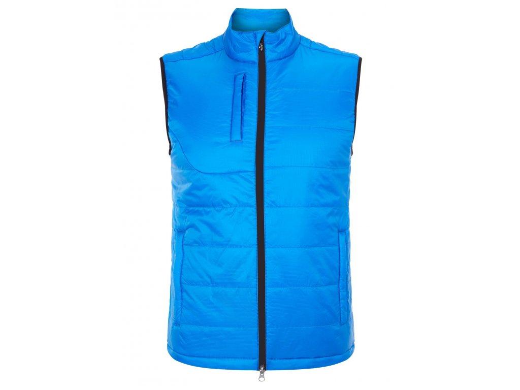 CALLAWAY pánská vesta Puffer 2.0 modrá (Velikost oblečení M)