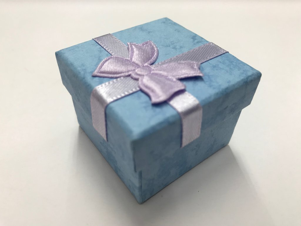 krabicka modra