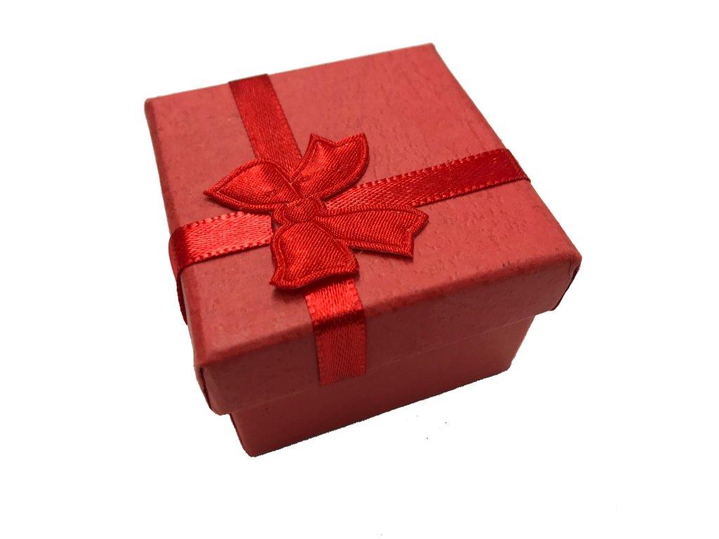 papírová krabička velká červená