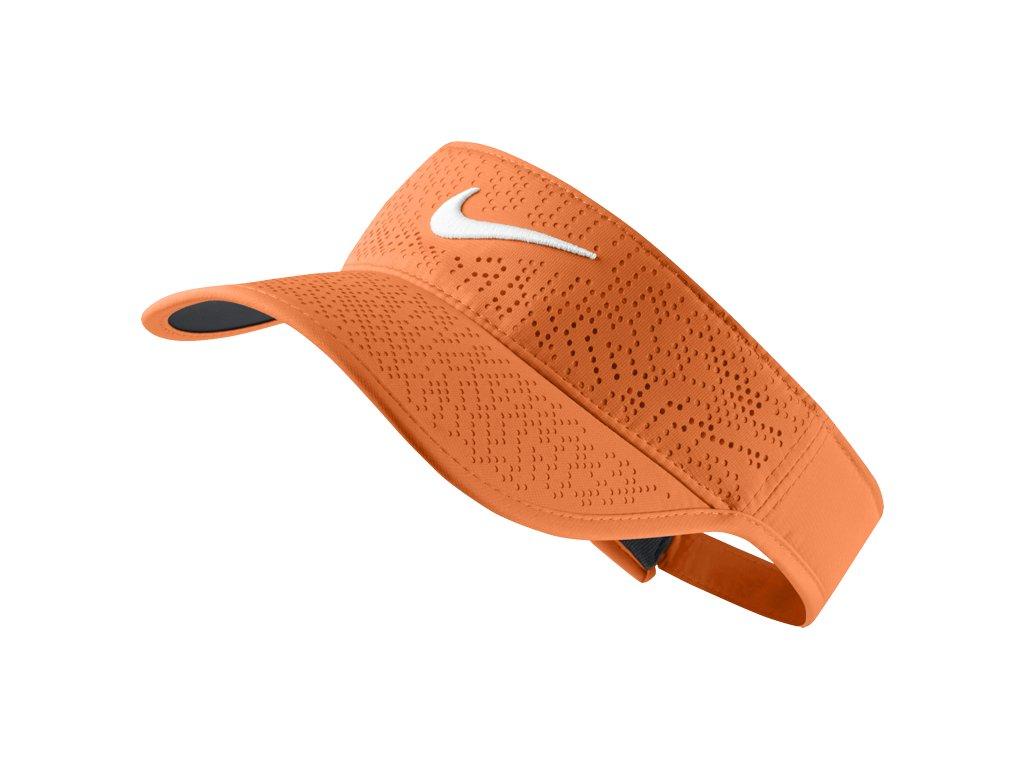 NIKE dámský kšilt Tech Visor oranžový
