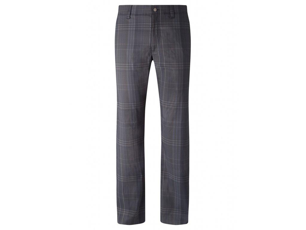 CALLAWAY pánské kalhoty Plaid Tech Trouser kostka černo-šedé  + Malé balení týček 10 ks