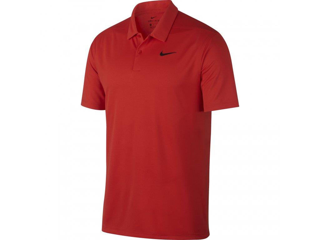 NIKE pánské tričko Dry Essential Solid červené zepředu