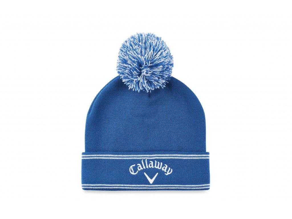 CALLAWAY zimní čepice Classic světle modrá zepředu