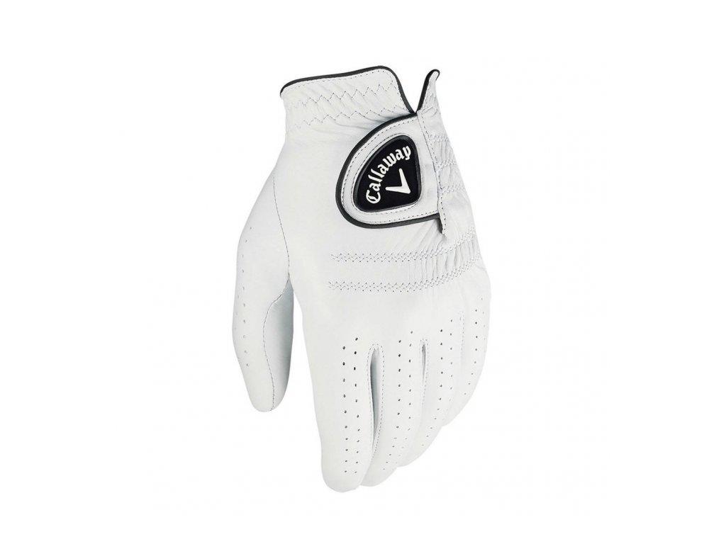 CALLAWAY Tour Authentic pánská golfová rukavice na levou ruku zepředu