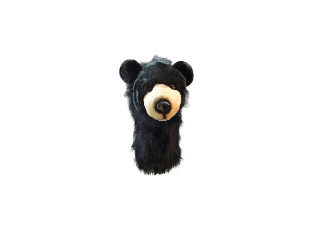 Daphnes headcover Black Bear - černý medvěd