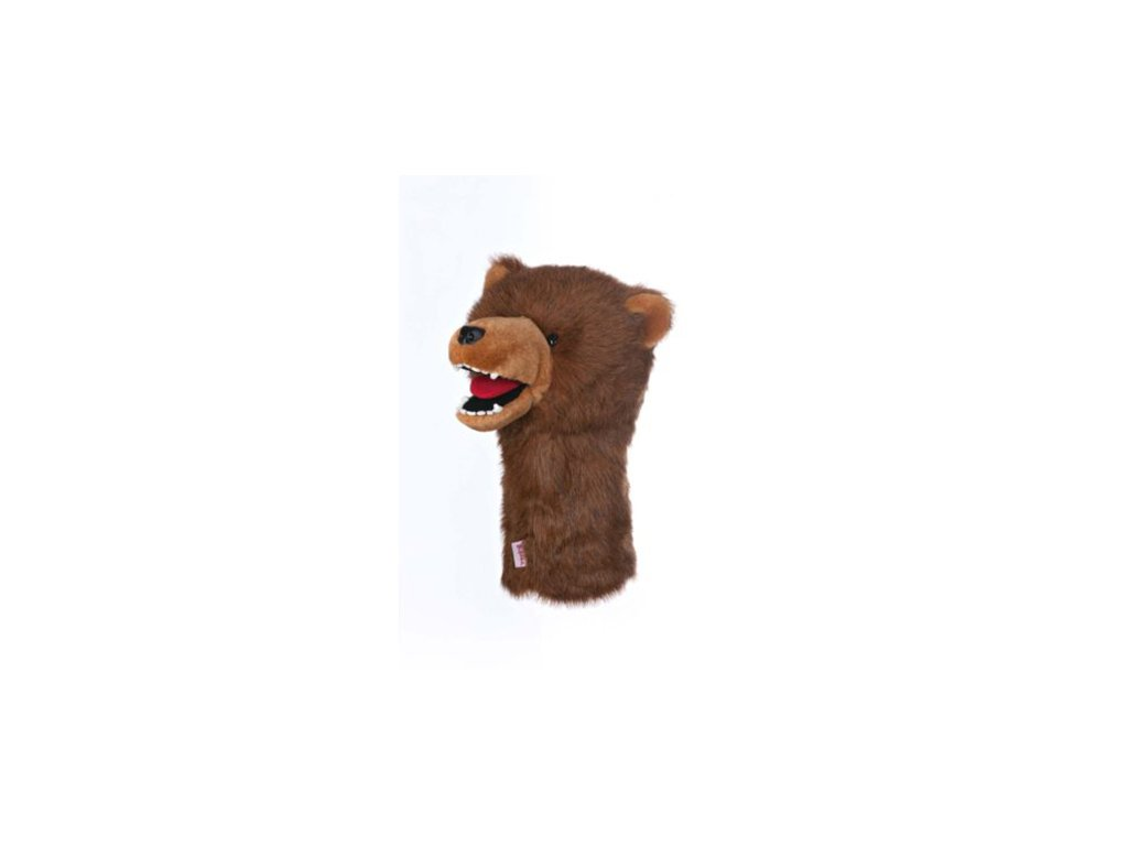 Daphnes headcover Grizzly Bear - mědvěd Grizzly