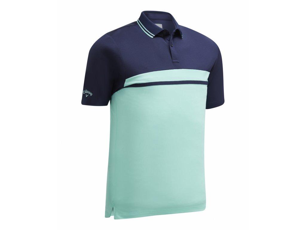 CALLAWAY pánské tričko Essential Core modré zepředu