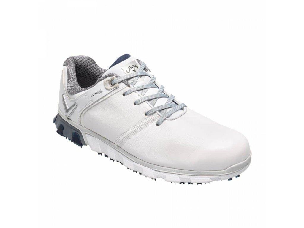 CALLAWAY M570-22 Apex Pro pánské golfové boty bílé z boku