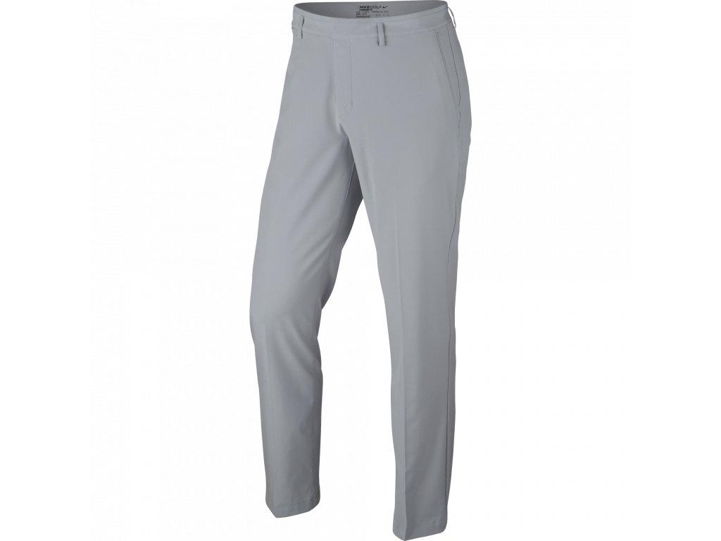 NIKE pánské kalhoty Flat Front Stretch světle šedé  + Malé balení týček 10 ks