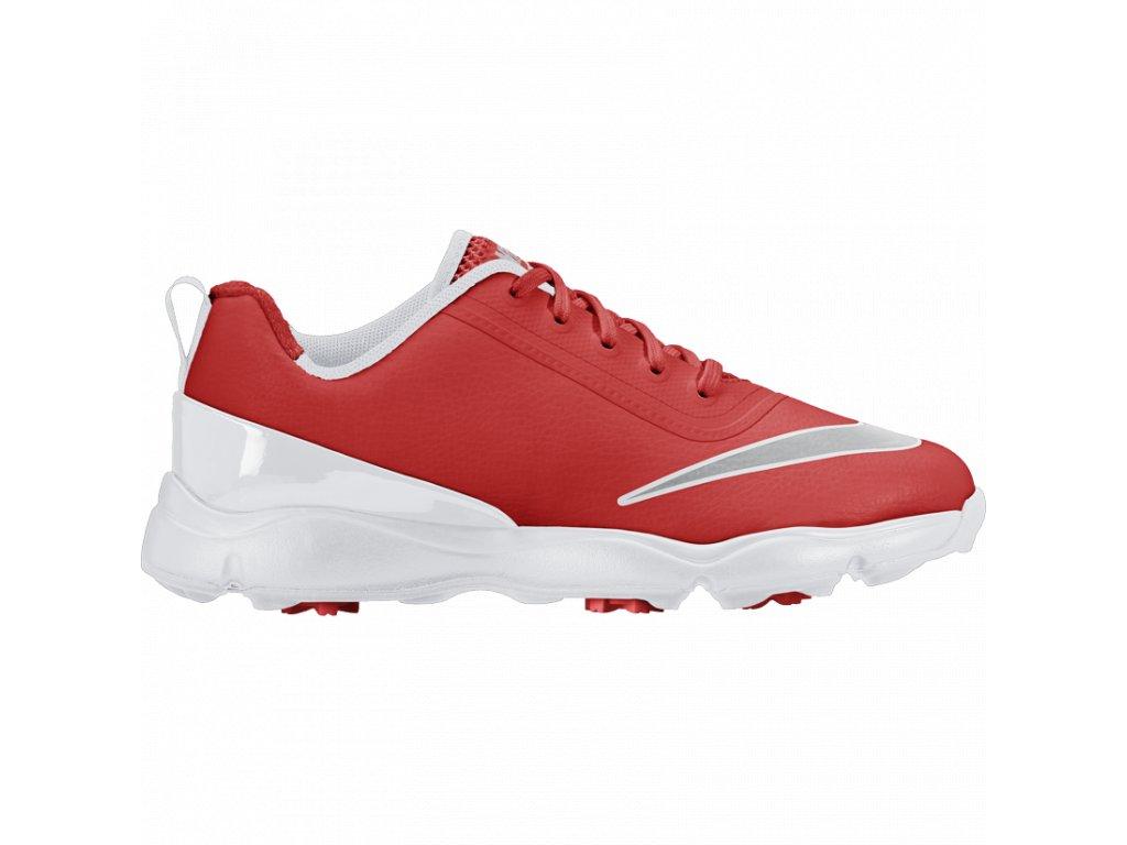 Nike dětské golfové boty Control červeno-oranžové