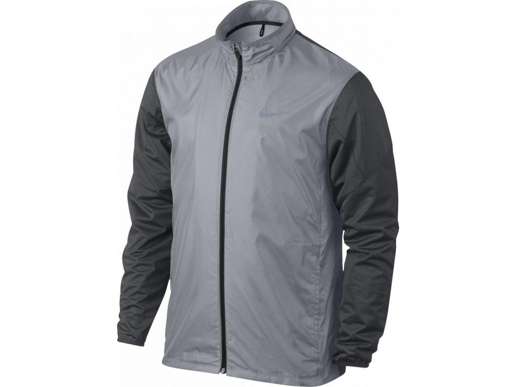 NIKE pánská Golf Full-Zip Shield šedá (Velikost oblečení M)