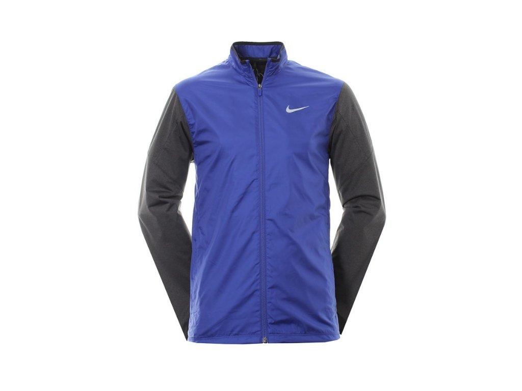 NIKE pánská Golf Full-Zip Shield modro-šedá (Velikost oblečení M)