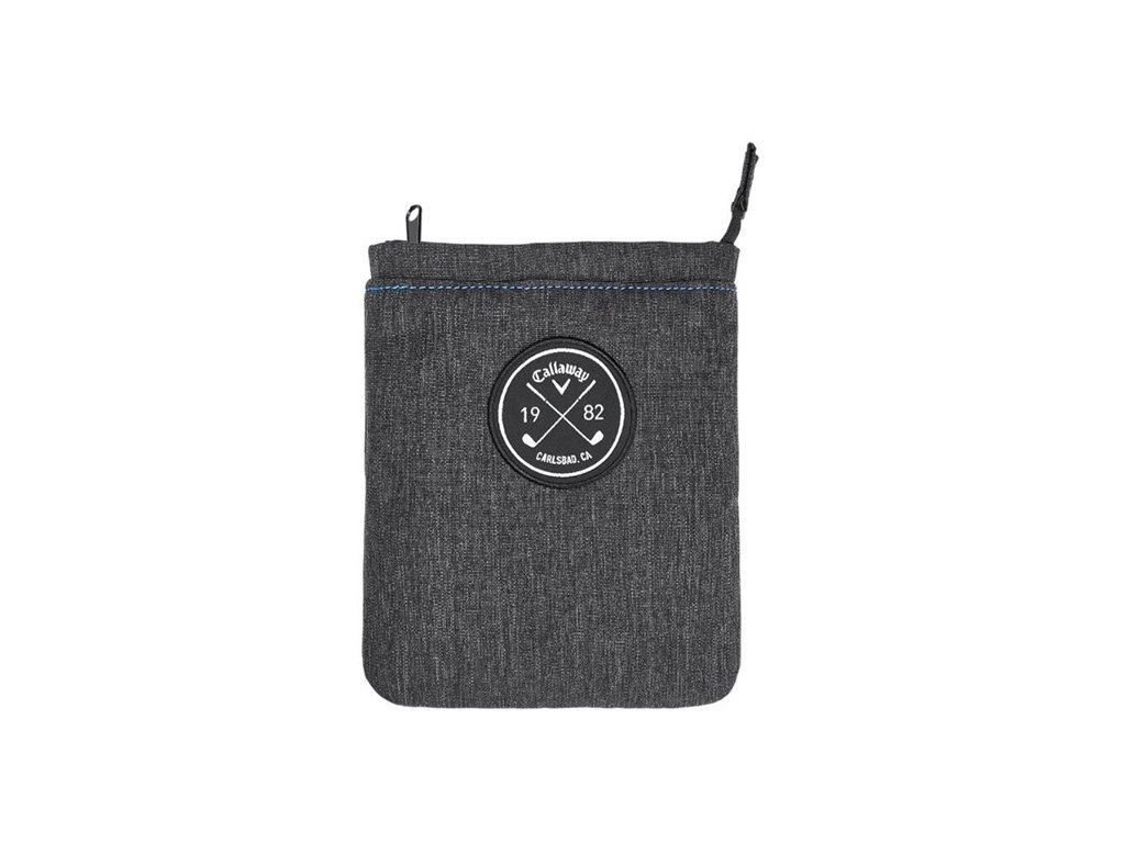 CALLAWAY Clubhouse Valuables Pouch 19 šedý