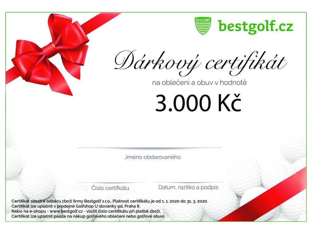 Zvýhodněný dárkový certifikát na oblečení a obuv