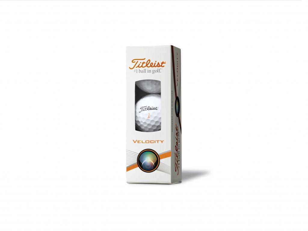 TITLEIST Velocity golfové míčky (3 ks)