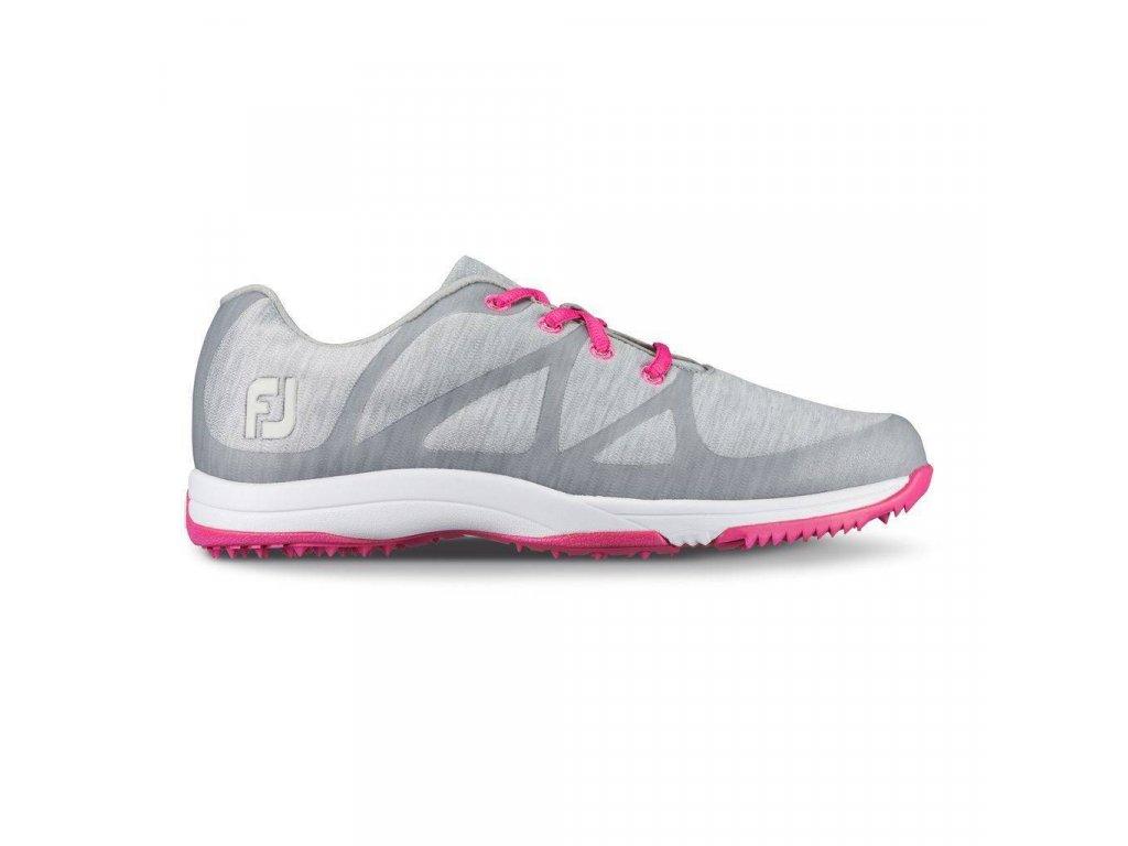FOOTJOY Leisure dámské golfové boty šedo-růžové