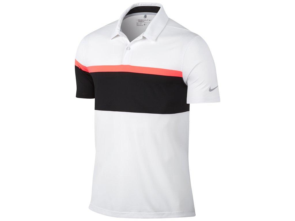 NIKE pánské tričko Mobility Open bílo-černé (Velikost oblečení XXL)