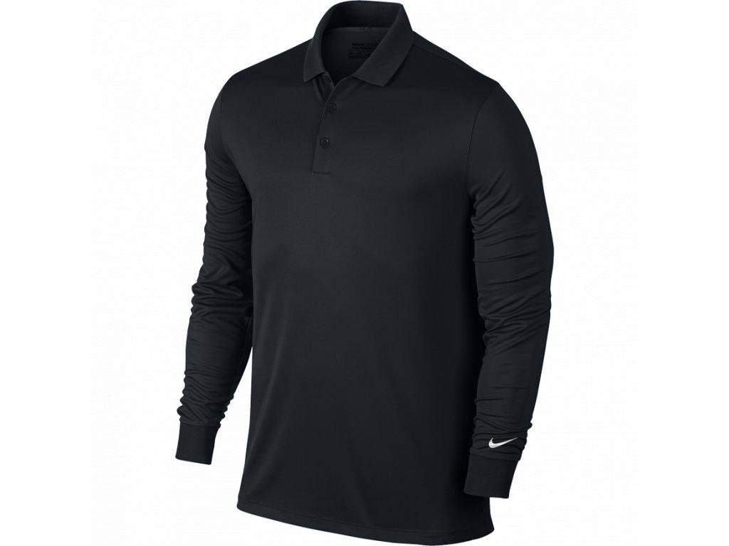 NIKE pánské tričko Victory L/S černé (Velikost oblečení S)
