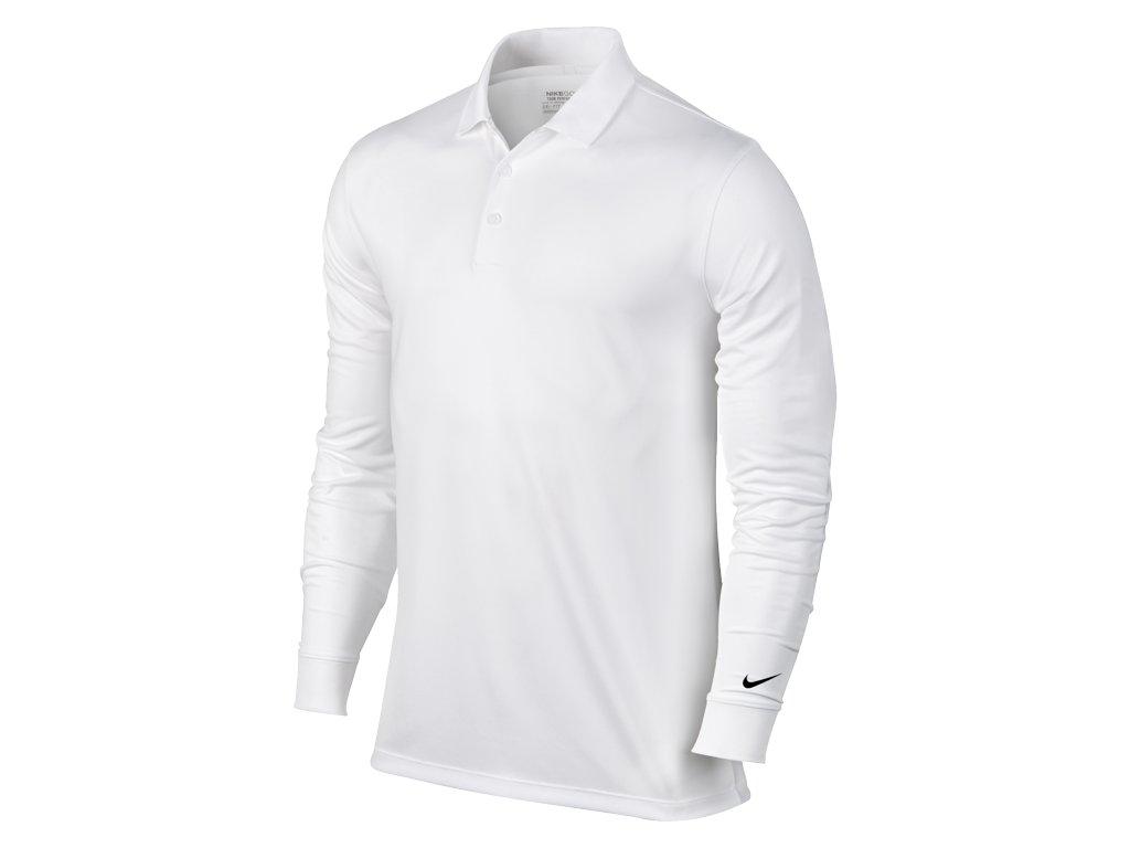 NIKE pánské tričko Victory L/S bílé (Velikost oblečení XXL)