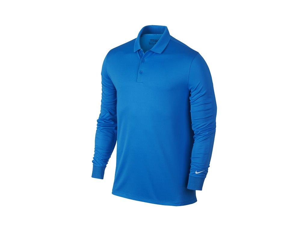 NIKE pánské tričko Victory L/S modré (Velikost oblečení M)