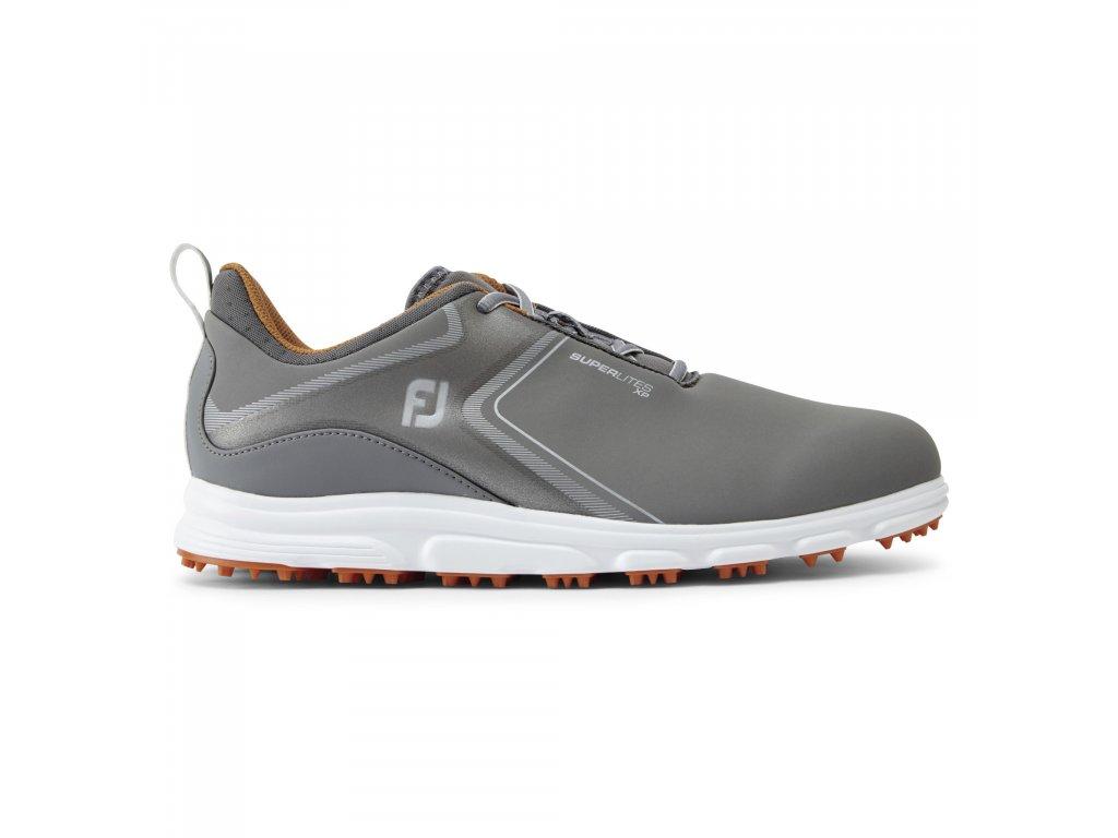 FOOTJOY pánské boty Superlites XP šedo/oranžové-z prava