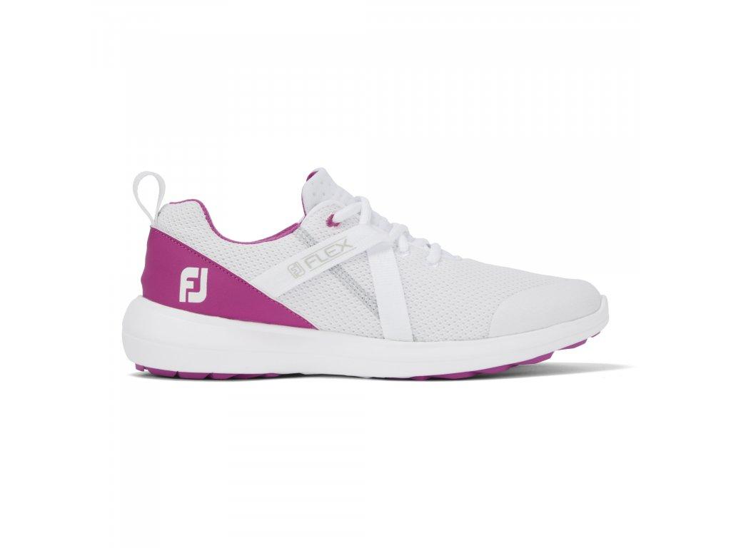 FOOTJOY dámské boty Flex bílo/růžové-z prava