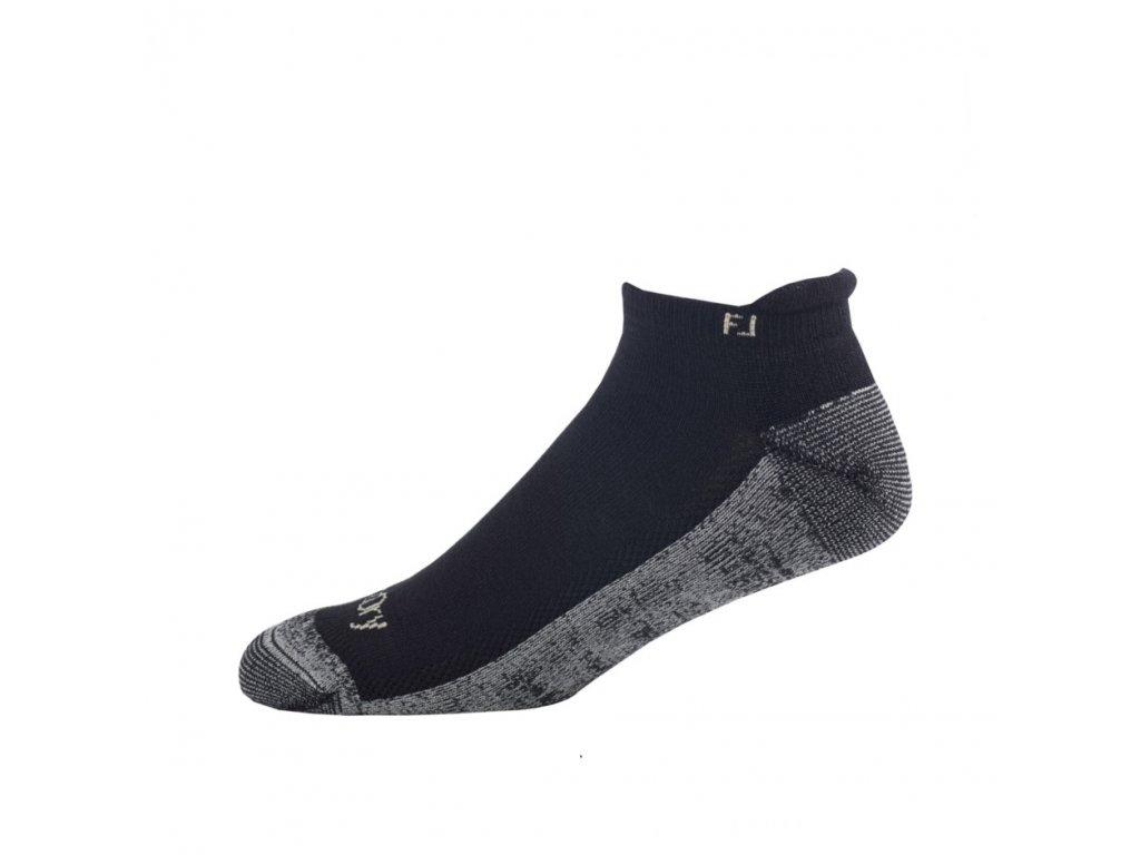 FOOTJOY pánské golfové ponožky ProDry Roll Tab černé