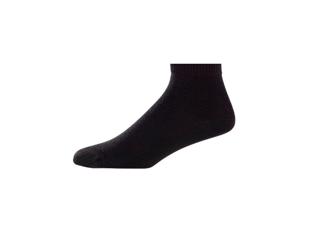 FOOTJOY dámské golfové ponožky ProDry Lightweight Quarter černé