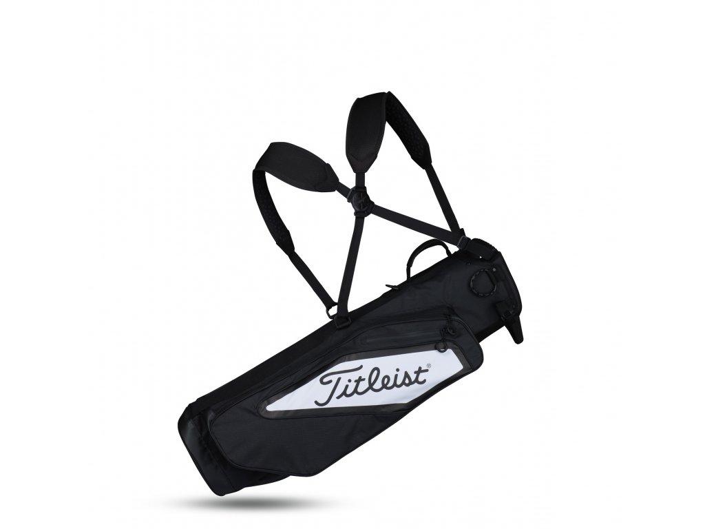 TITLEIST Premium Carry bag na trénink černo-bílý  + Malé balení týček 10 ks