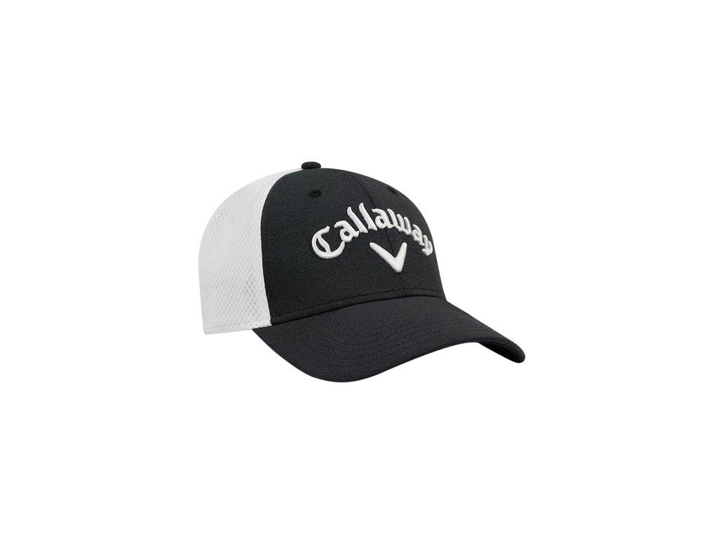 CALLAWAY pánská čepice Mesh Fitted šedá (Velikost oblečení L/XL)