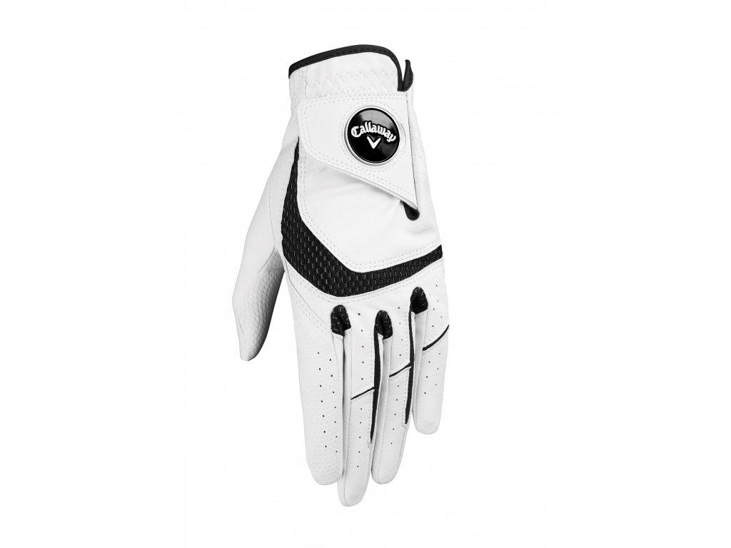 CALLAWAY Syntech pánská golfová rukavice na levou ruku zepředu