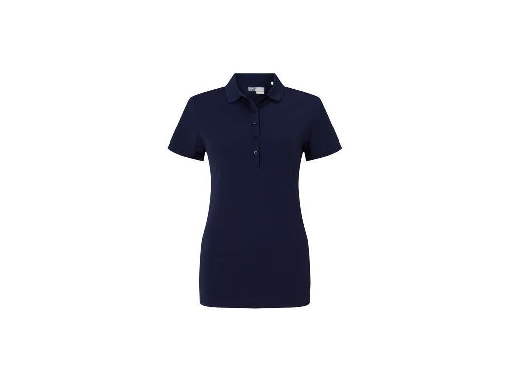 CALLAWAY dámské tričko Micro Hex tmavě modré