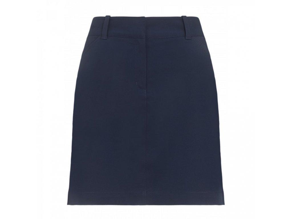 CALLAWAY Stretch Skort dámská golfová sukně tmavě modrá zepředu