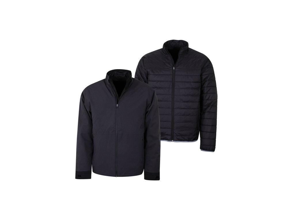 CALLAWAY Waterproof Modular pánská golfová bunda černá