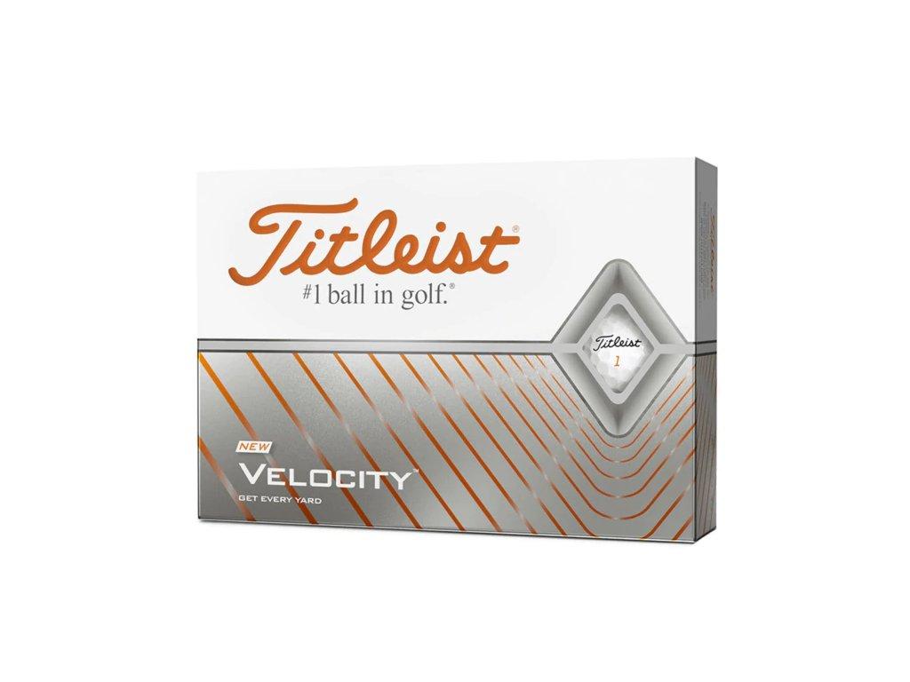 TITLEIST Velocity golfové míčky bílé