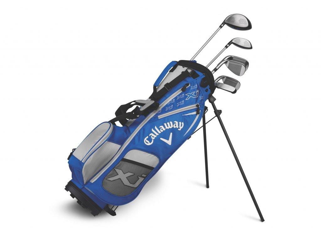 CALLAWAY XJ-2 chlapecký golfový set 120-135 cm, grafitový na pravou stranu