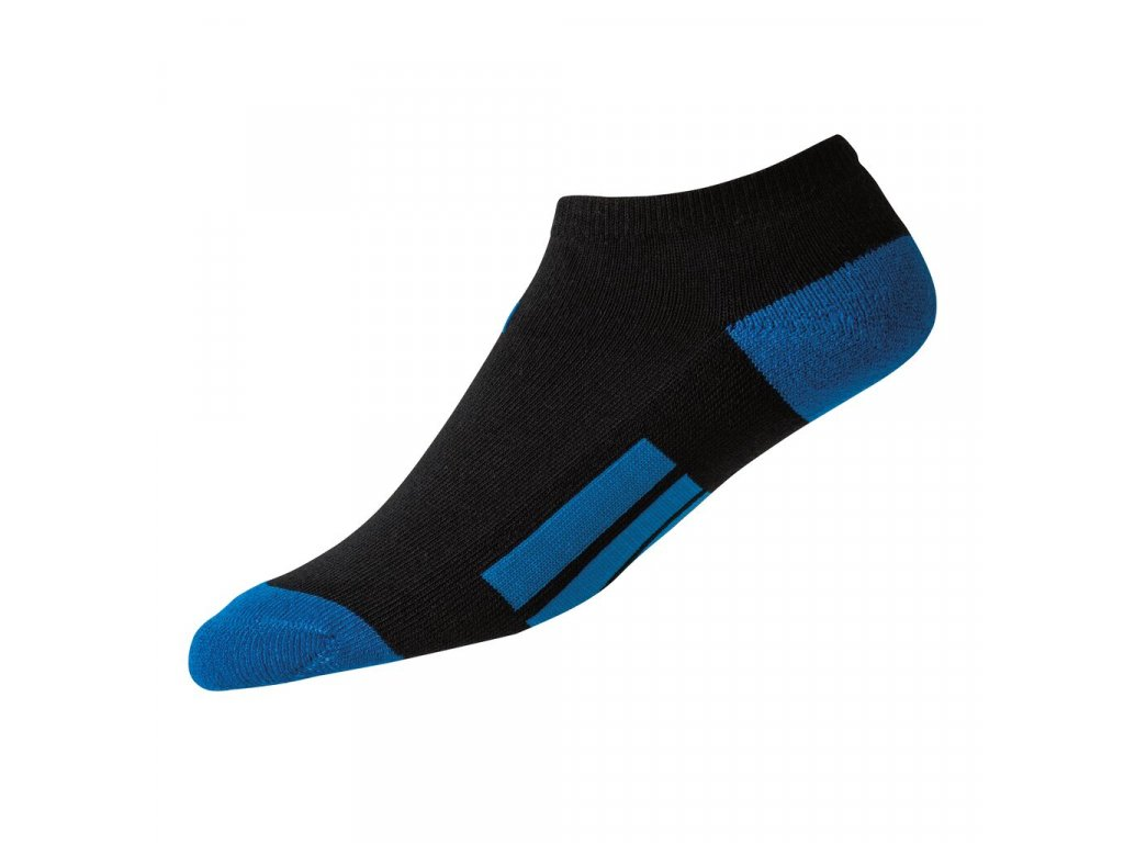 FOOTJOY dětské golfové ponožky ProDry Low Cut černo-modré