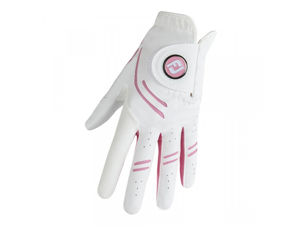 FOOTJOY GT Xtreme dámská golfová rukavice na levou ruku bílo-růžová