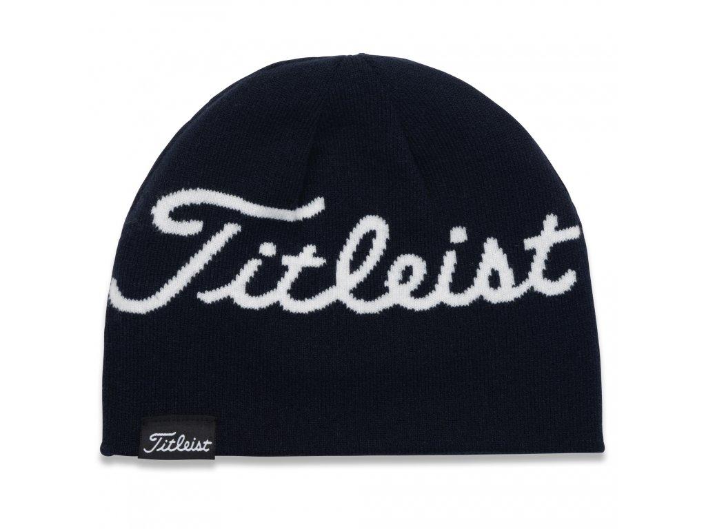 TITLEIST Lifestyle zimní čepice tmavě modrá/bílá
